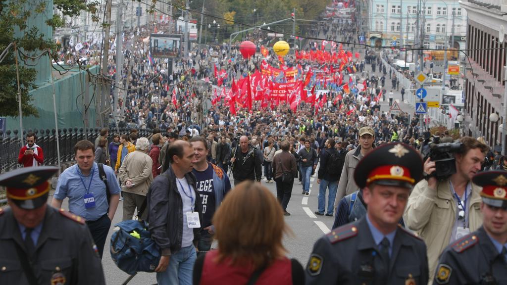 Pochod milionů v Moskvě