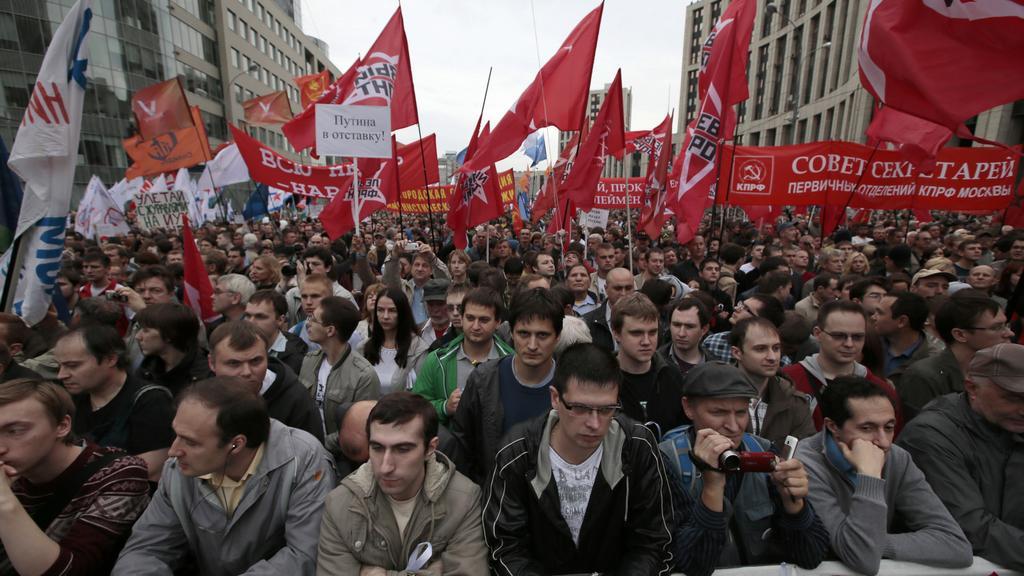 Protestu ruské opozice se zúčastnilo několik desítek tisíc lidí