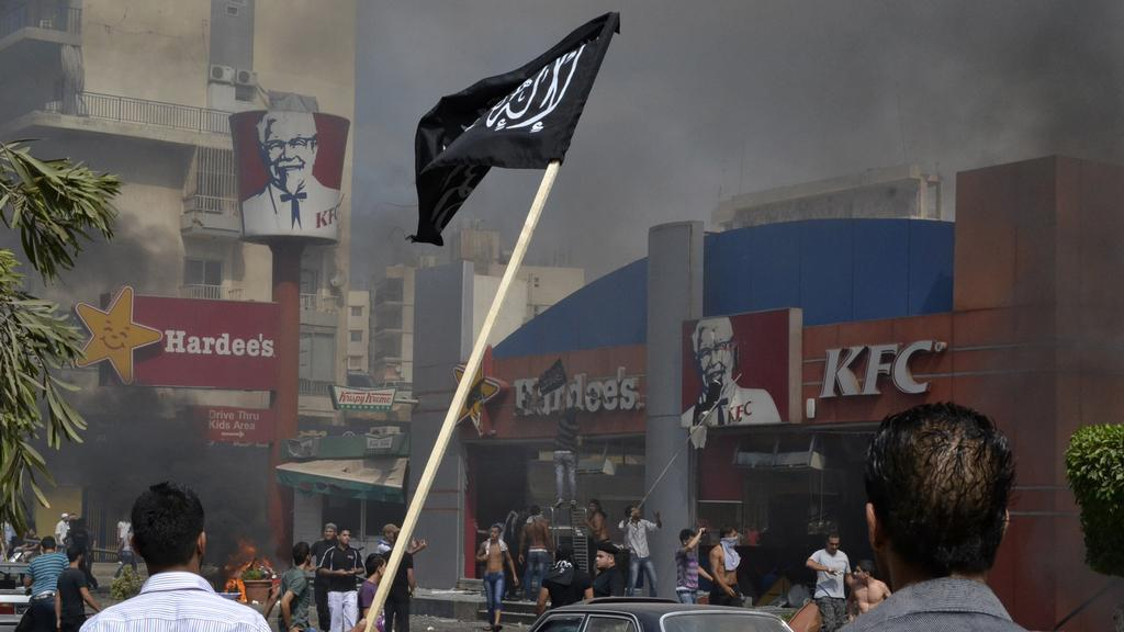 Protiamerické protesty v Libanonu