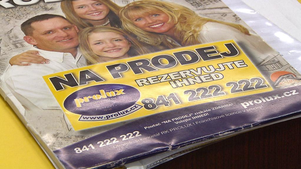 Katalog realitní kanceláře Prolux