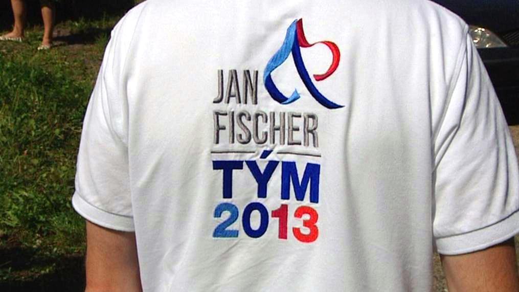 Podpora Janu Fischerovi