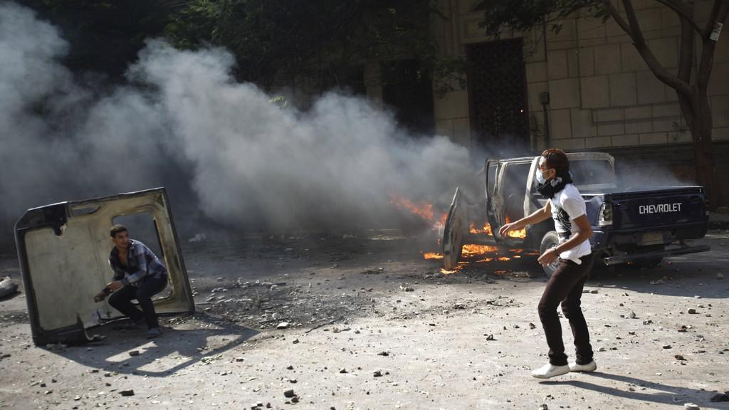 Protesty proti USA v Egyptě