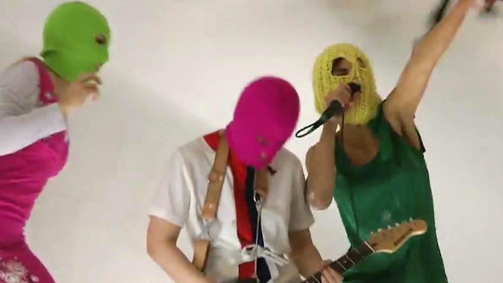 Ruská dívčí punková kapela Pussy Riot