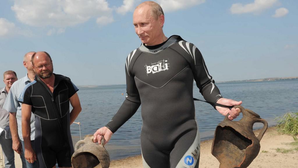 Vladimir Putin archeologem