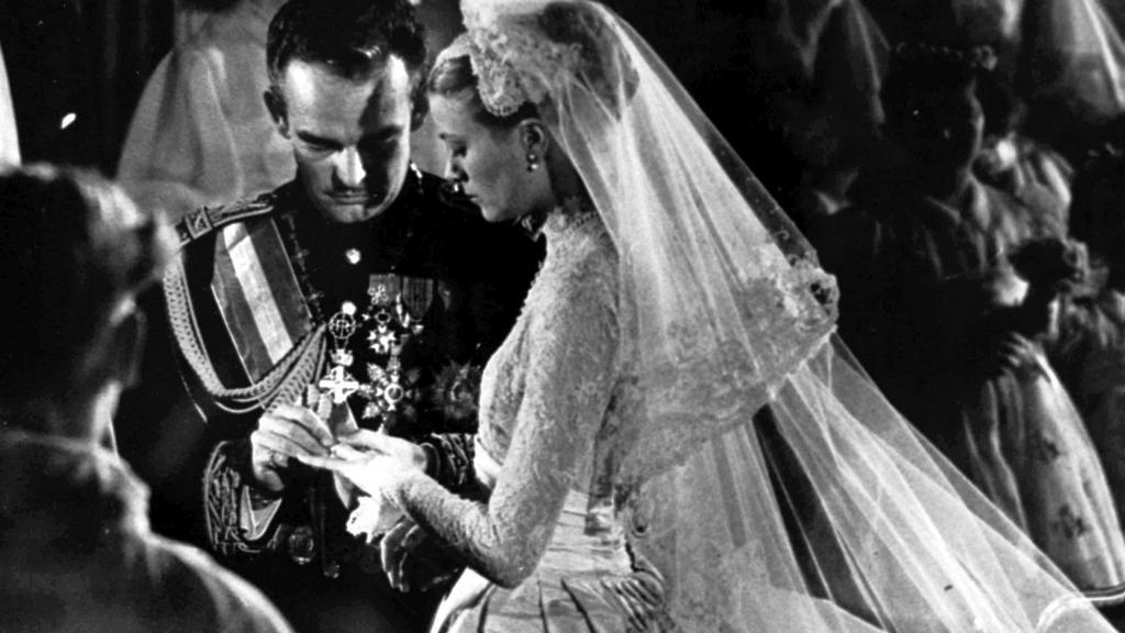 Svatba Grace Kellyové a knížete Rainiera
