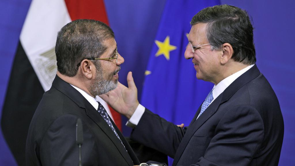 Muhamad Mursí a José Manuel Barroso