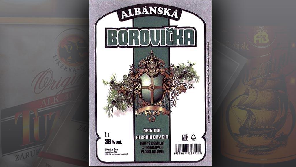 Albánská Borovička