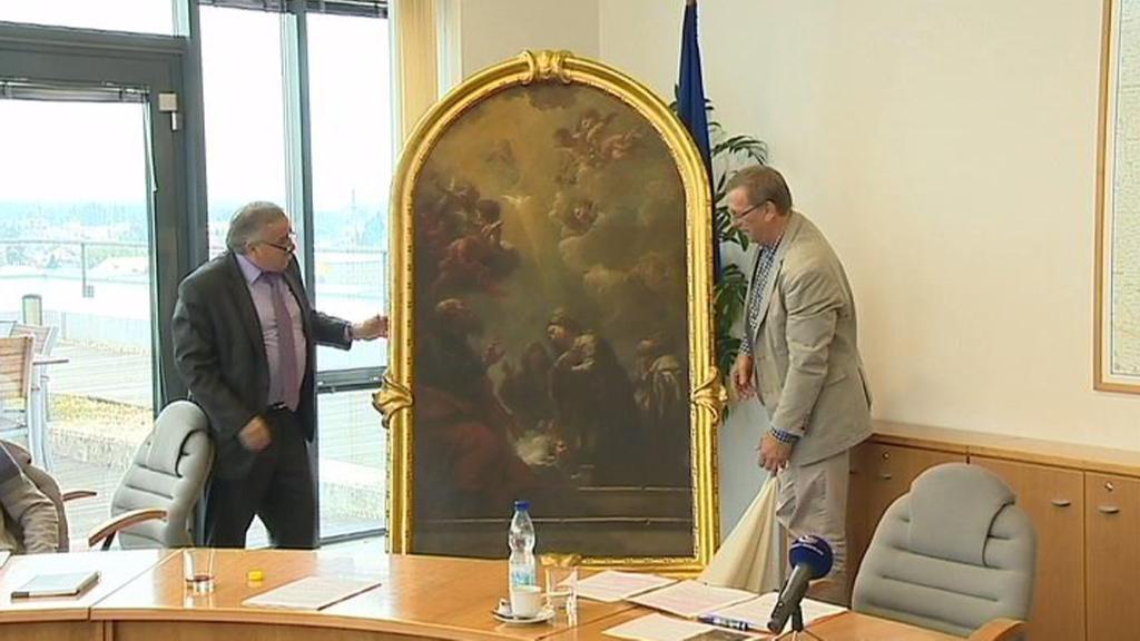 Barokní obraz v Čechách pod Kosířem