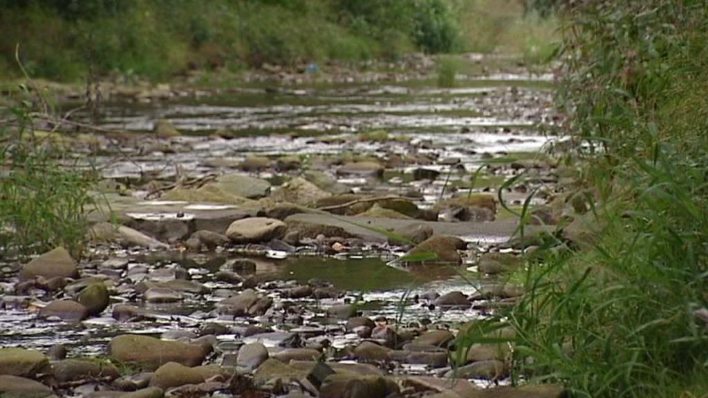Některé řeky a potoky jsou prakticky vyschlé
