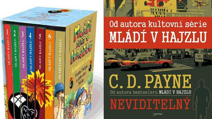 Knihy C. D. Paynea: Mládí v hajzlu a Neviditelný