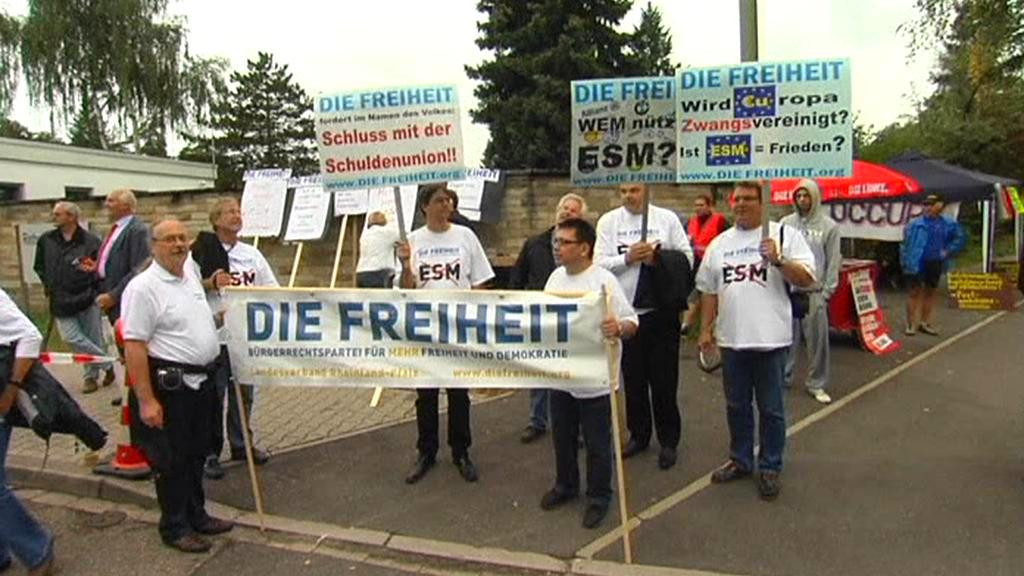 Protest proti eurovalu