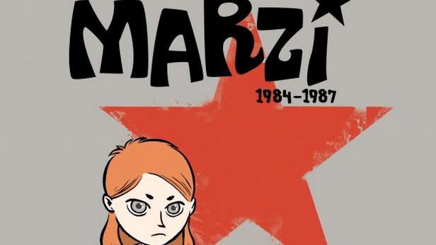 Detail obálky knihy Marzi