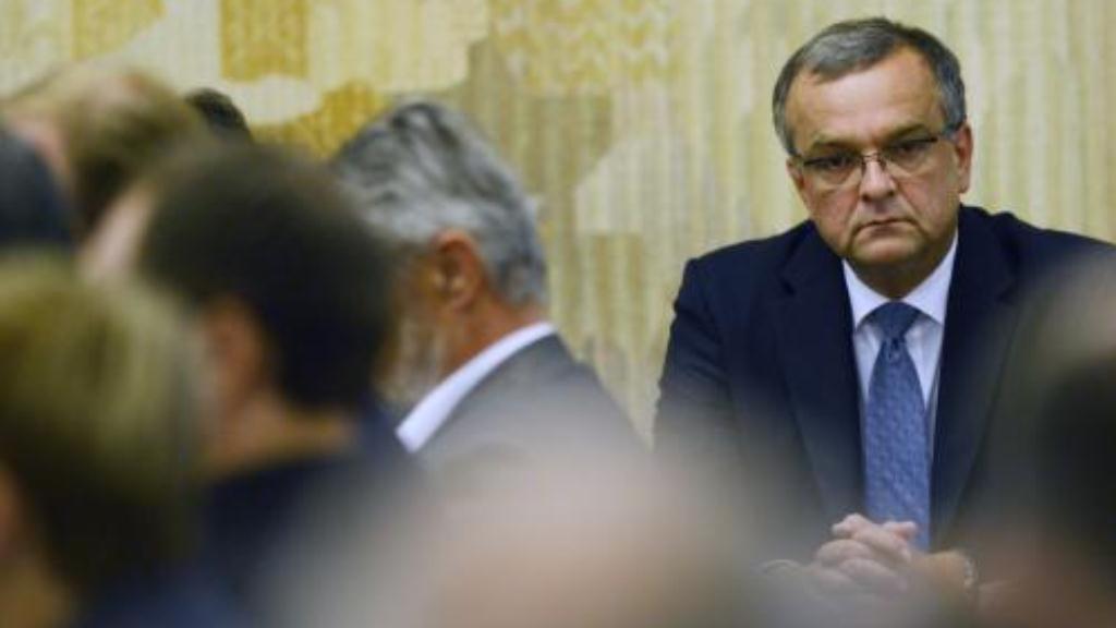Kalousek na jednání sněmovního bezpečnostního výboru