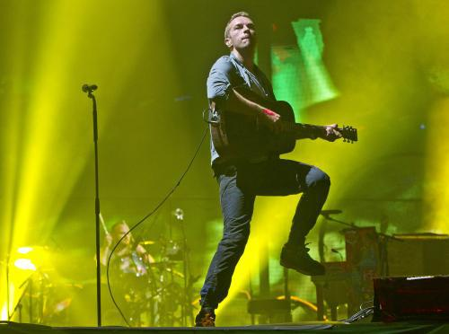 Coldplay na Glastonbury 2011