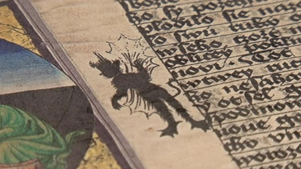 Čertík vznikl z kaňky, kterou autor v textu nechtěl