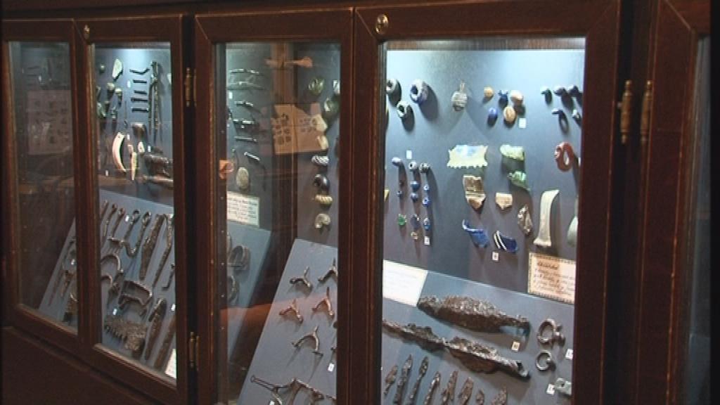 Expozice ukazuje i archeologické nálezy z Boskovicka