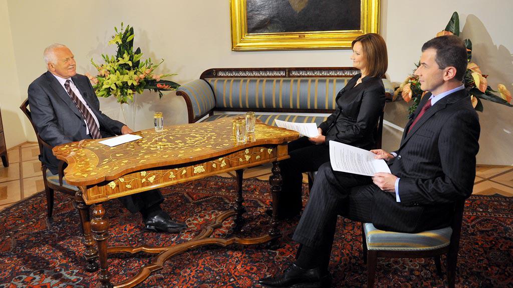 Interview s prezidentem Václavem Klausem