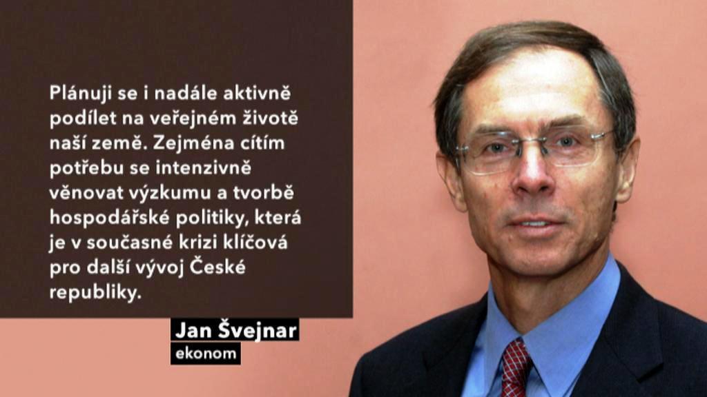 Vyjádření Jana Švejnara