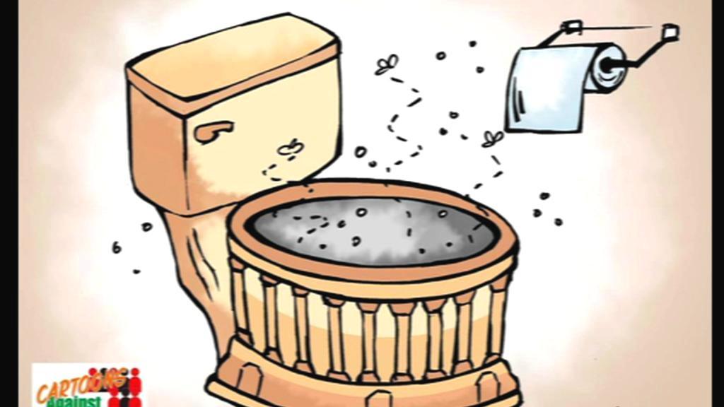 Karikatura Aseema Trivediho