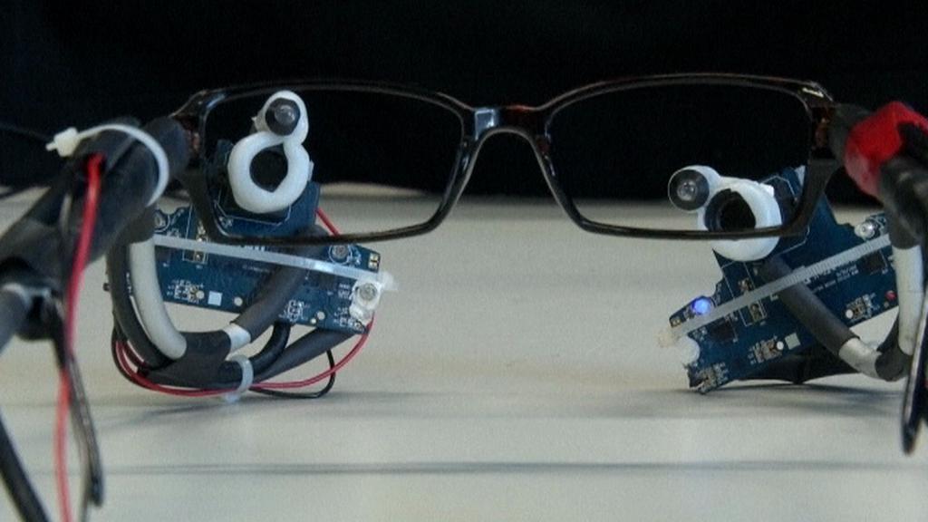 Snímací brýle
