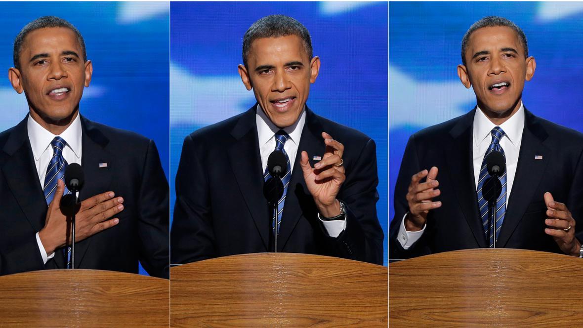 Projev Baracka Obamy na sjezdu demokratů