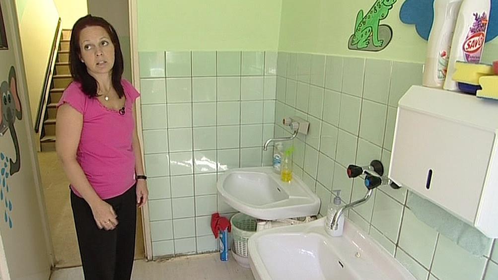 Náhradní prostory školky v Jugoslávské
