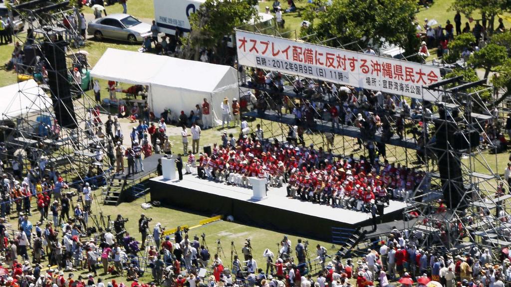 Demonstrace v Japonsku