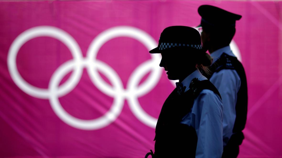 Londýn před zahájením olympiády