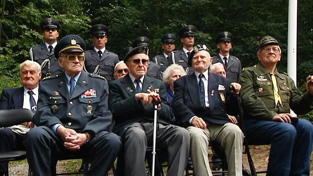 Uctění památky polských letců