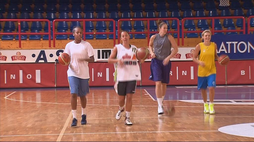 Basketbalistky Brna jsou v plné přípravě na sezonu