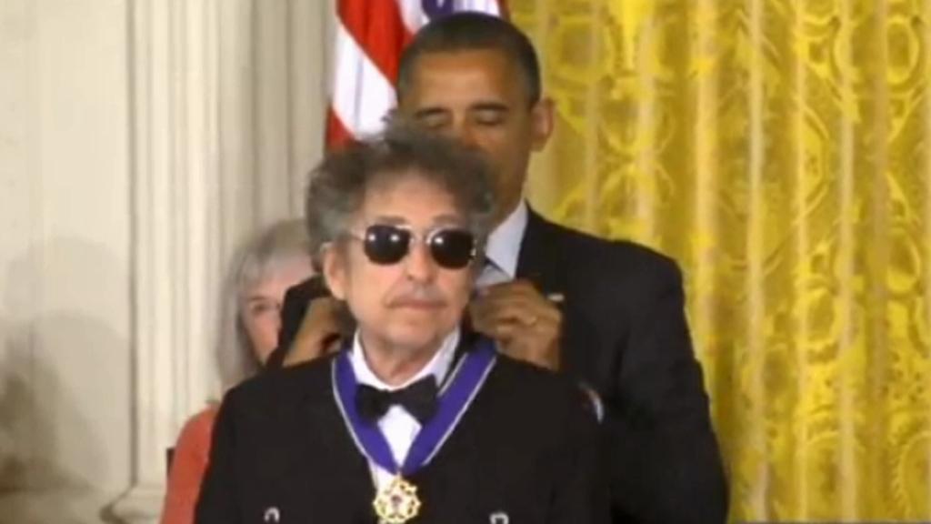 Předávání Prezidentské medaile svobody