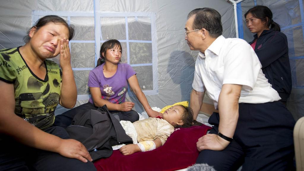 Čínu zasáhlo silné zemětřesení
