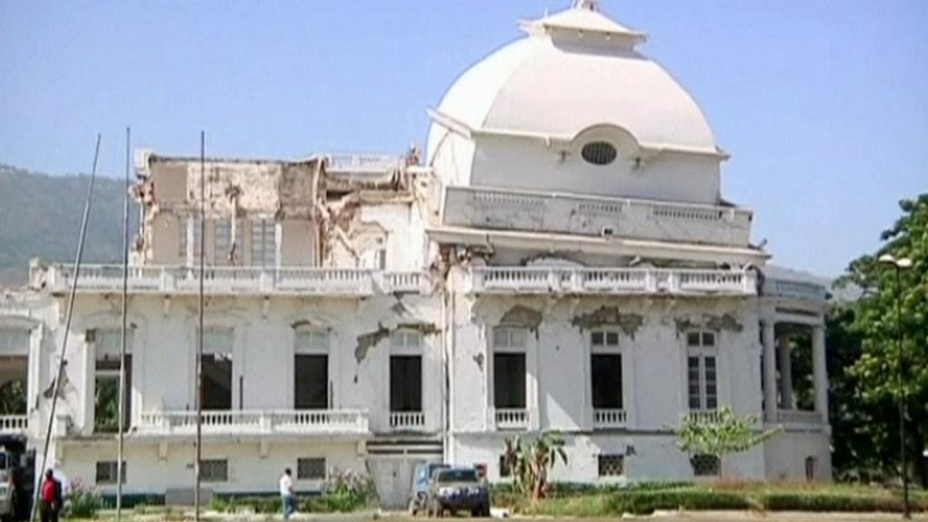 Prezidentský palác na Haiti