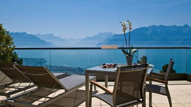 Hotel v Mont Pelerinu