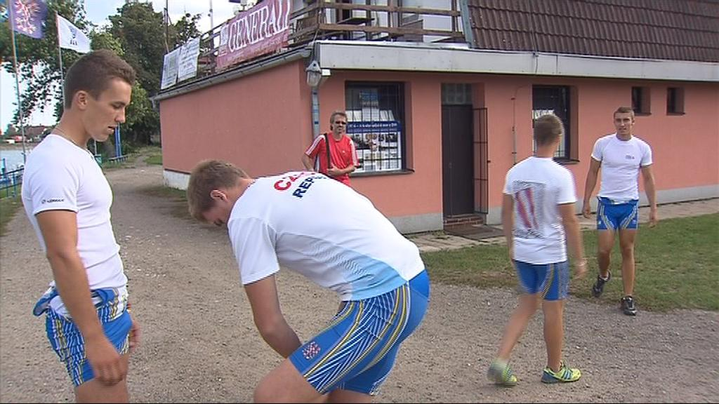Na mistrovství republiky získali břeclavští veslaři čtyři medaile