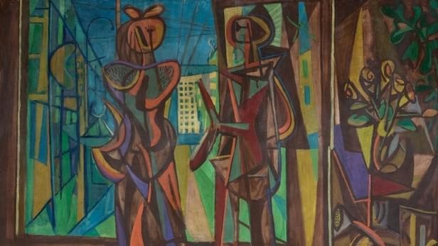 Jan Kotík / Obchod na hlavní třídě (Město), 1947