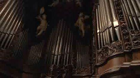 Varhany v kostele svatého Mořice