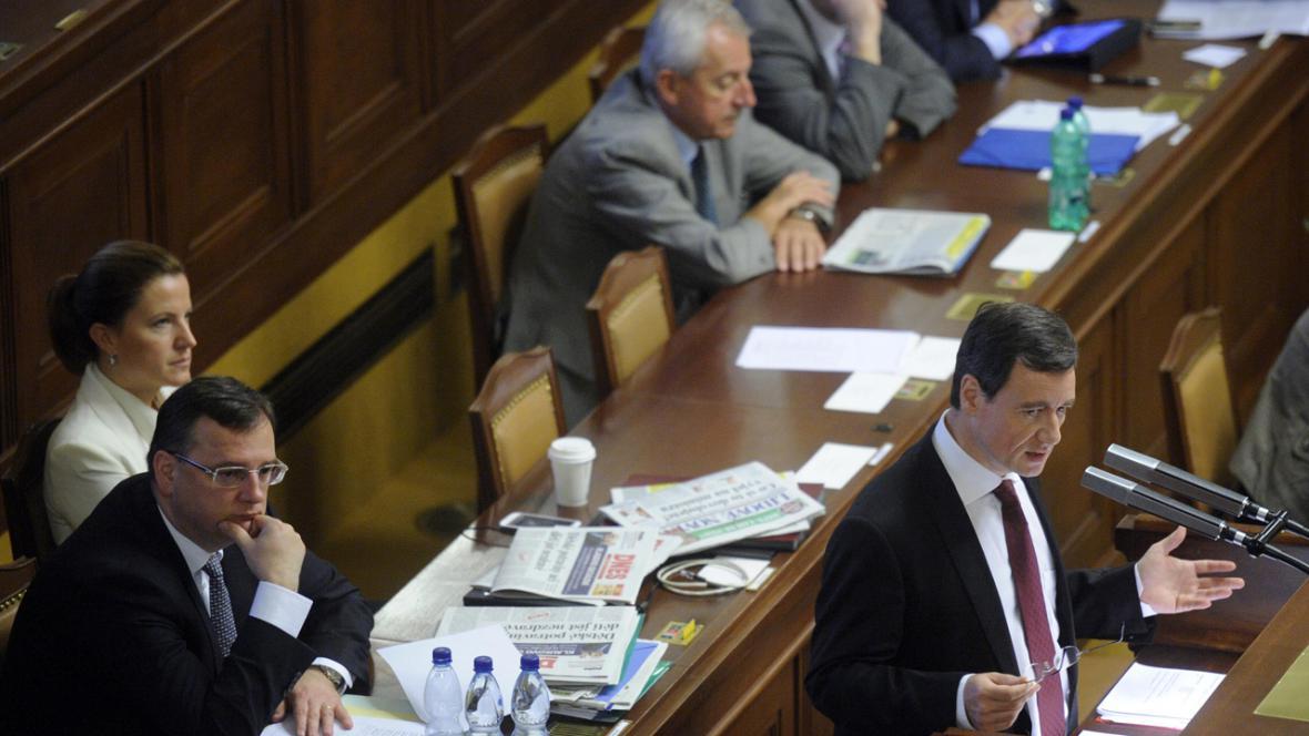 David Rath ve sněmovně