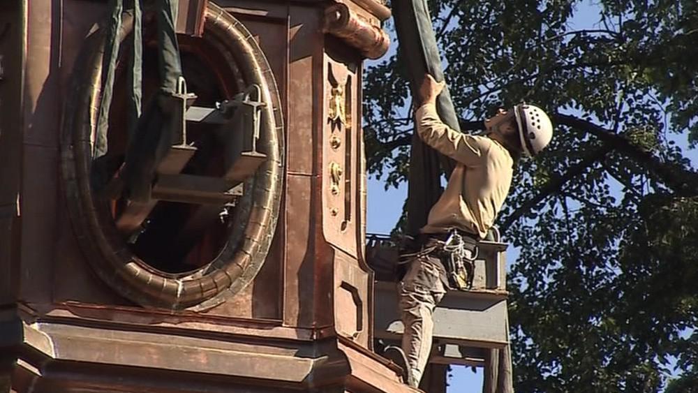 Opravy zabraly odborníkům deset tisíc hodin