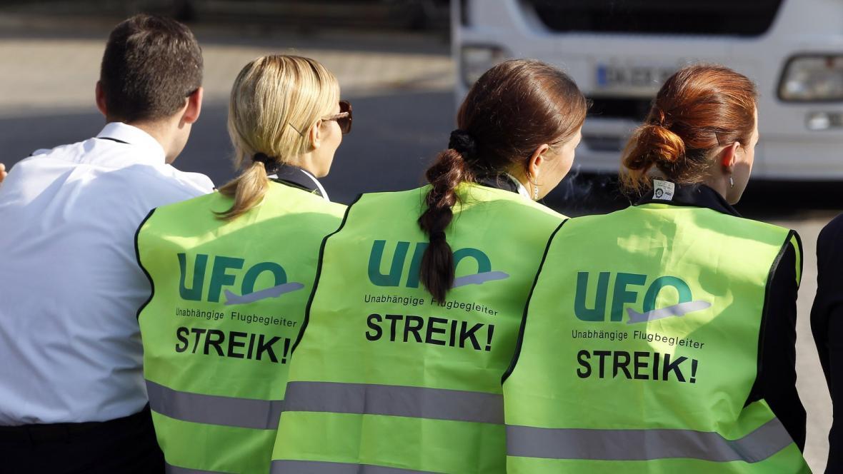 Stávka na berlínském letišti