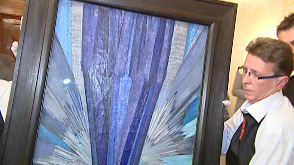 Tvar modré od Františka Kupky
