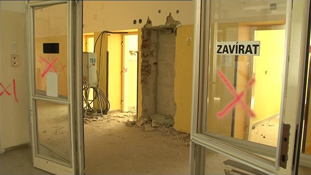 V Kyjově začala rekonstrukce pavilonu interny