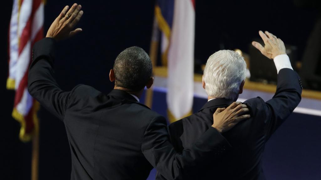 Barack Obama a Bill Clinton