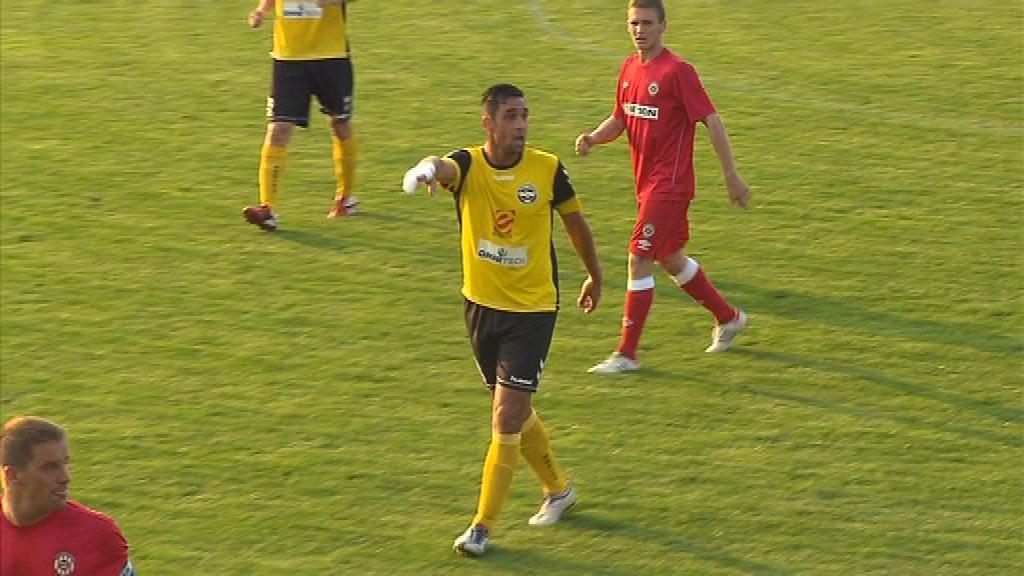 Pro Martina Živného, který v dresu Zbrojovky odehrál několik sezon, měla výhra ještě větší váhu