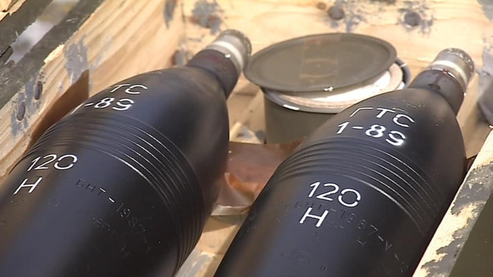V Sávě je zhruba 150 dělostřeleckých min