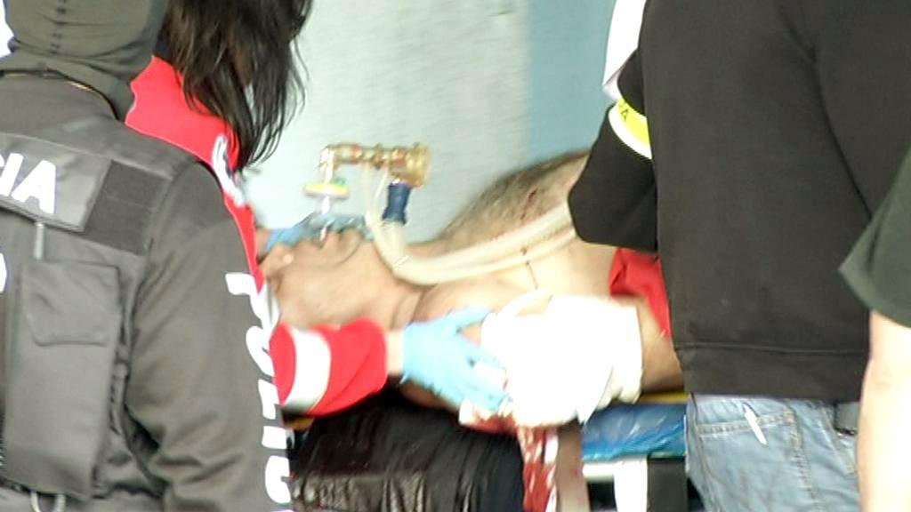 Slovenský kanibal zraněný při přestřelce s policií