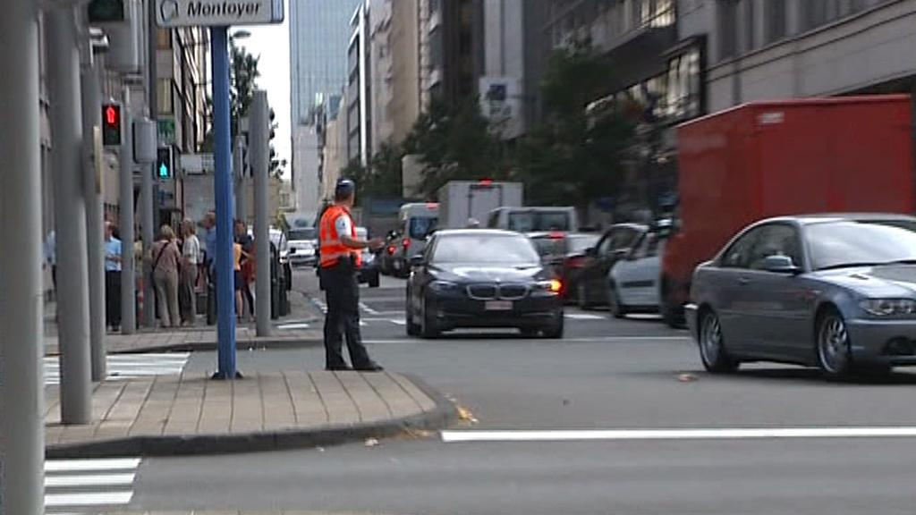 Policie odkláněla dopravu
