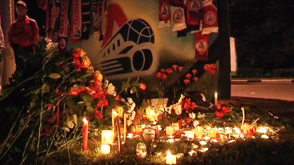 Pieta za zesnulé hokejisty