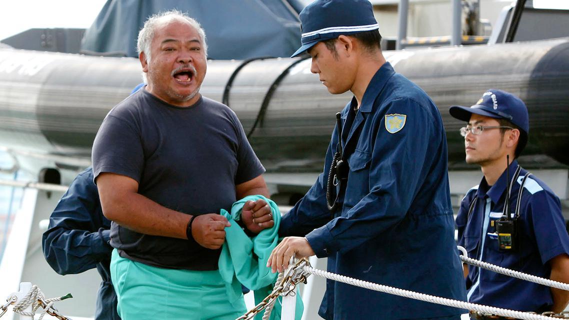 Zadržený čínský aktivista