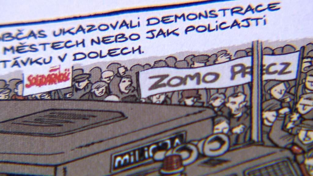 Ukázka z komiksu Marzi 1984–1987